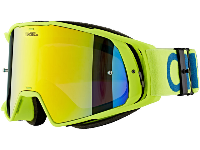 ONeal B-20 Goggle FLAT hi-viz/blue-radium